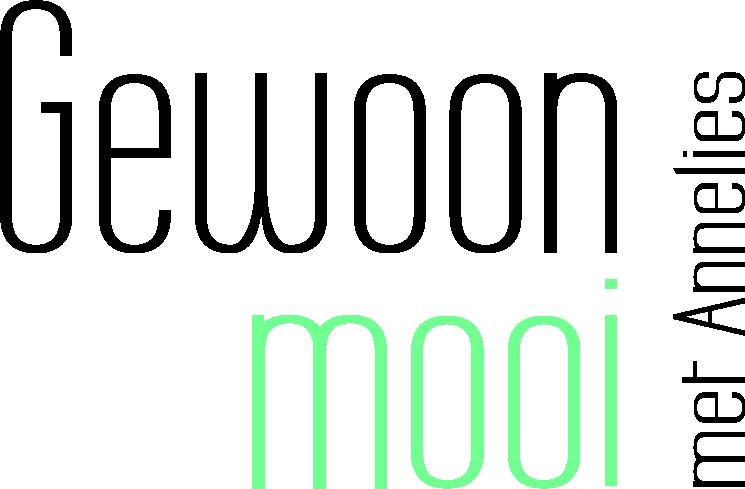 Logo Gewoon Mooi met Annelies vrij